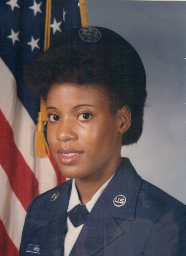 Air Force National Guard Photo of Leslie in 1985!