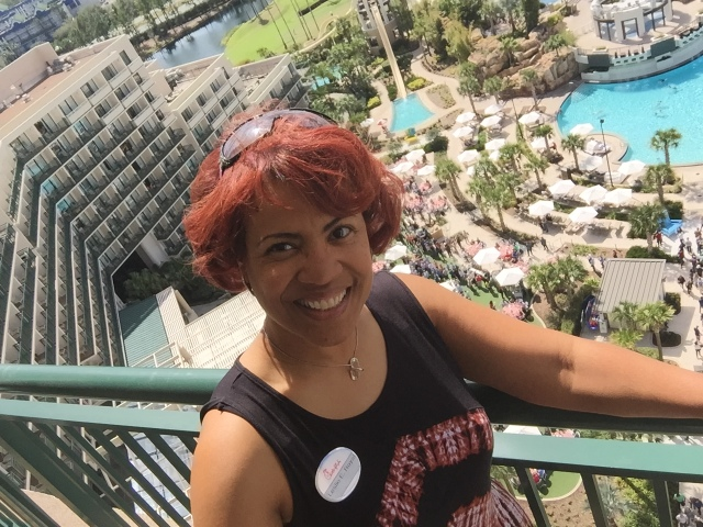 Enjoying a room with a great view! Tony and I attended the Chick-fil-A  annual conference. Want to join the best company in the world?
