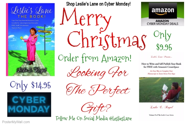 Leslies Lane Cyber Monday Flyer