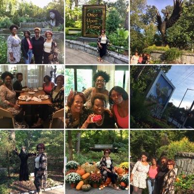 Atlanta Botanical Garden Collage